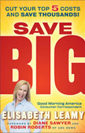 Elisabeth Leamy, Host of Easy Money, is the author of Save BIG, about how to save more money.